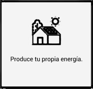 Produce tu propia energía